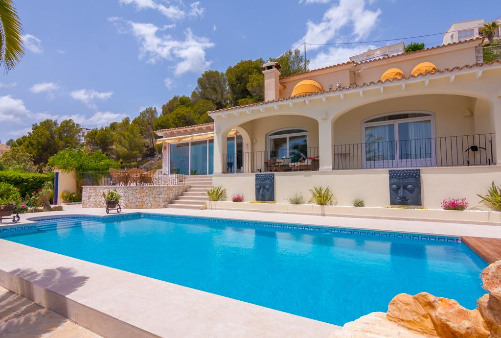 Felicidad 6, Large and luxury villa in Benissa, on the Costa Blanca, Spain  with private pool for 6 persons.....