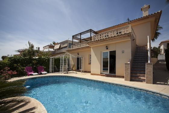 Casamar Winter rental, Villa in Altea, on the Costa Blanca, Spain  with private pool for 8 persons.....