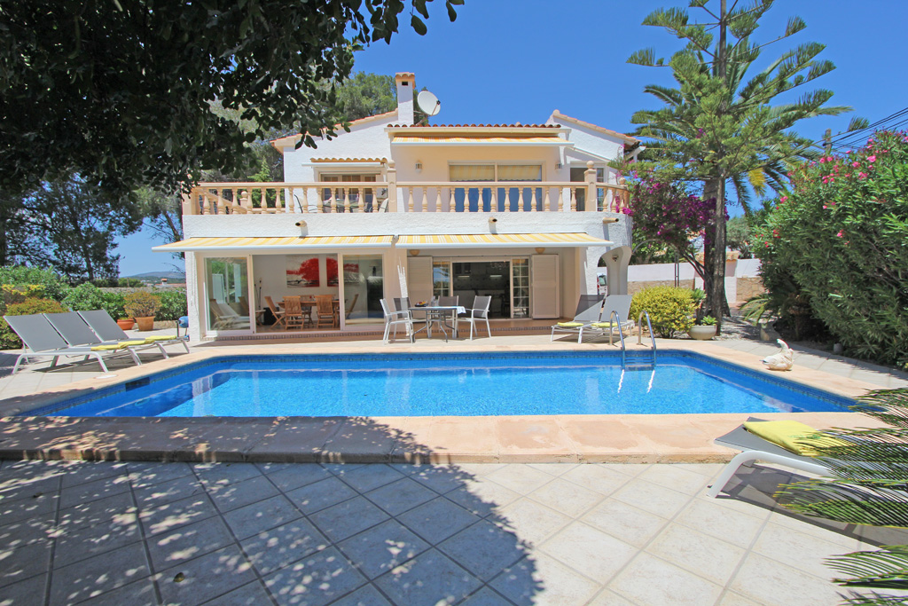 Villa Esmeralda, Villa  with private pool in Moraira, on the Costa Blanca, Spain for 8 persons.....