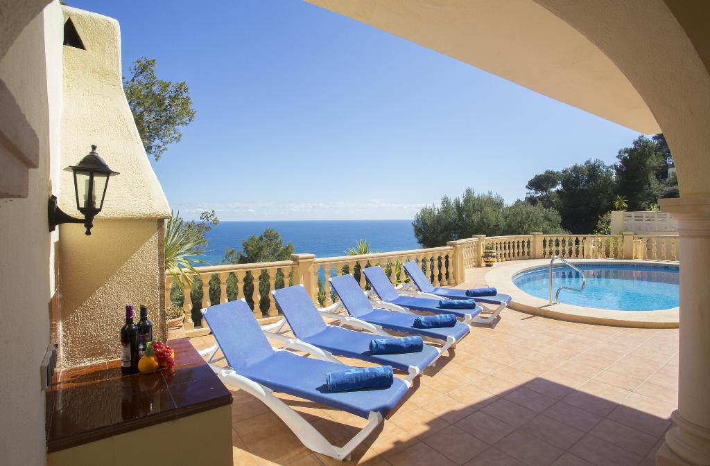 Casa Hayden 6 pax, Classic and comfortable villa  with private pool in Javea, on the Costa Blanca, Spain for 6 persons.....