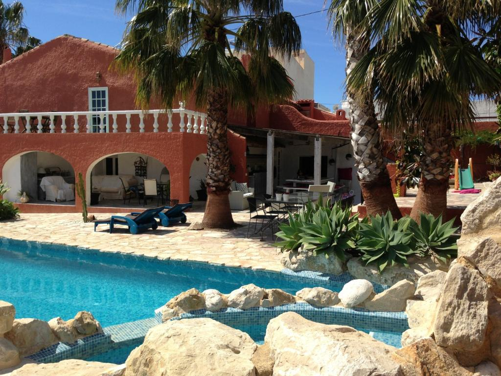 Finca la Torre,Rustic and nice villa in Altea, on the Costa Blanca, Spain  with private pool for 12 persons.....