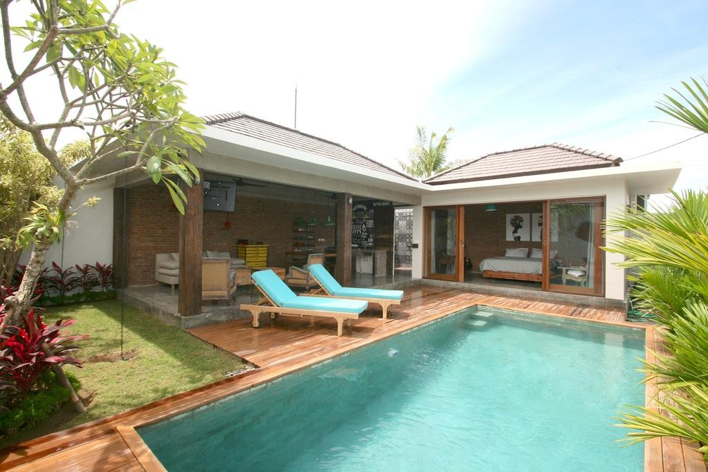 Canggu 4quarters, Beautiful and luxury villa  with private pool in Canggu, Bali, Indonesia for 2 persons...