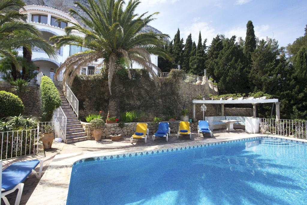 Casa Mella, Classic and nice holiday home with private pool in Denia, on the Costa Blanca, Spain for 4 persons. The holiday home is.....