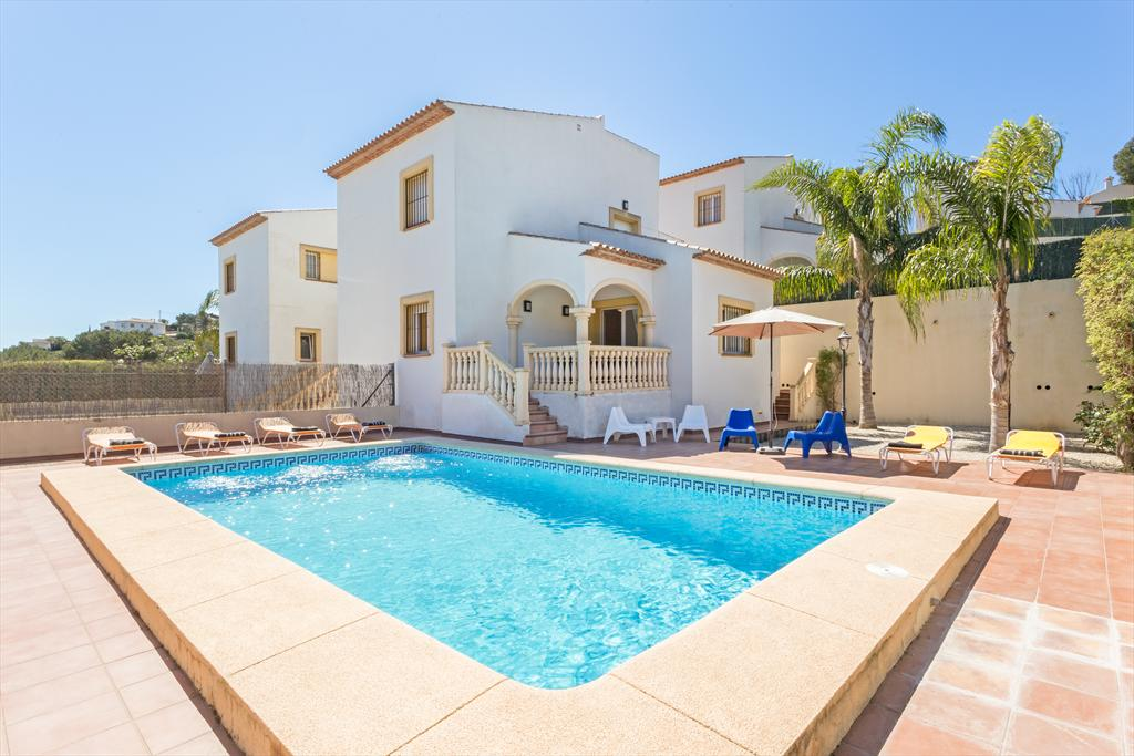Monte Turquesa, Classic and nice holiday home in Javea, on the Costa Blanca, Spain  with private pool for 6 persons...