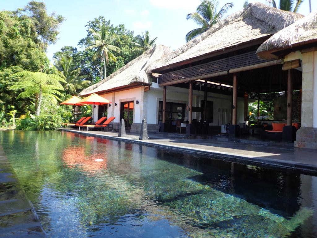 Rumah orchids 2br, Large and luxury villa  with private pool in Ubud, Bali, Indonesia for 4 persons...