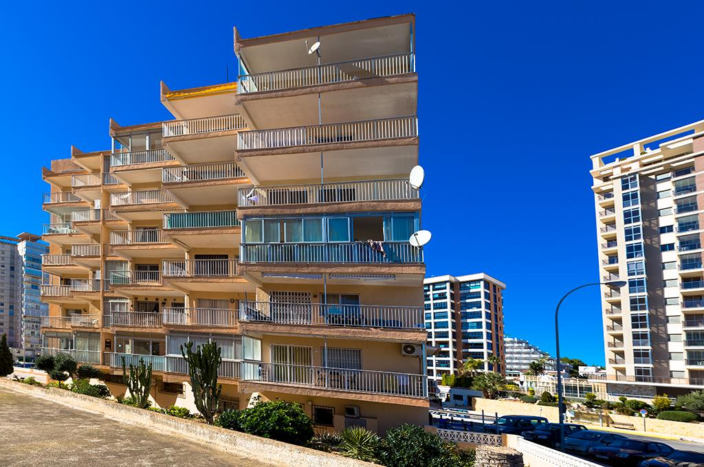 Vistamar 15 4, Apartment in Calpe, on the Costa Blanca, Spain for 4 persons...