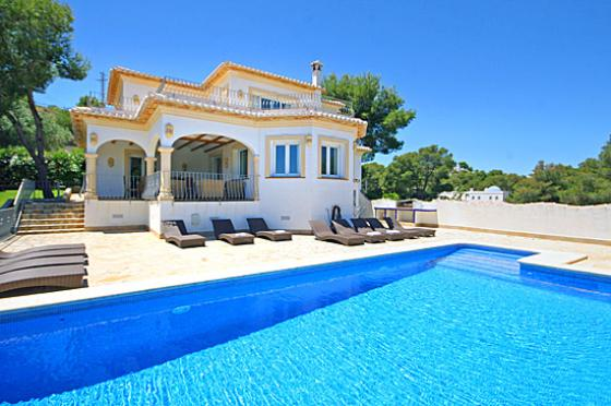 Anngos 18 pax, Wonderful and nice villa  with private pool in Javea, on the Costa Blanca, Spain for 18 persons...