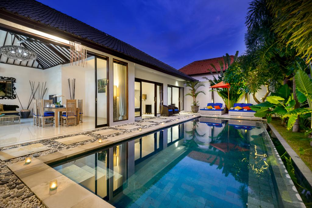 Luxe, Beautiful and luxury villa  with private pool in Seminyak, Bali, Indonesia for 6 persons...
