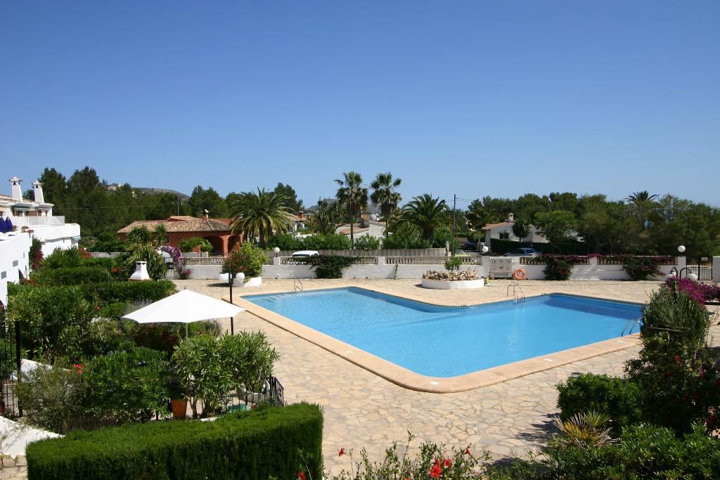 Bungalow camarrocha 10, Holiday home in Moraira, on the Costa Blanca, Spain  with communal pool for 6 persons...