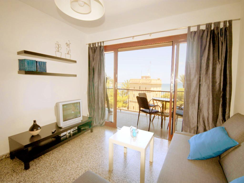 Suertes del mar, Beautiful and cheerful apartment in Denia, on the Costa Blanca, Spain for 6 persons.....