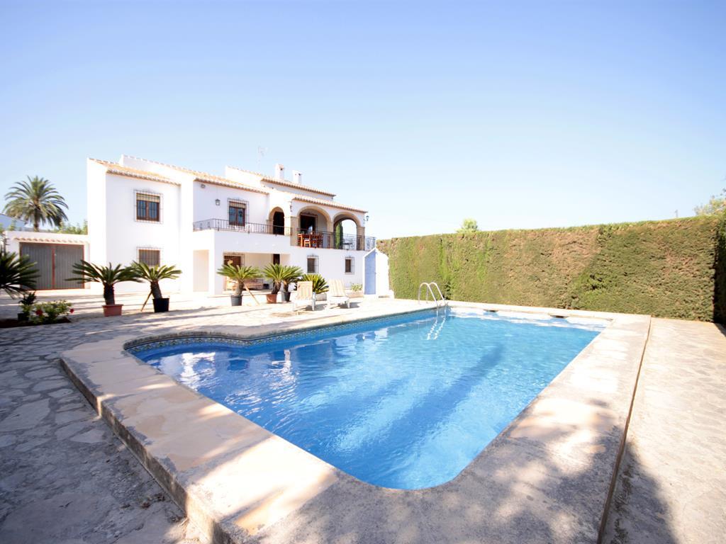 Ximo,Villa classica e confortevole  con piscina privata a Javea, sulla Costa Blanca, in Spagna per 6 persone...