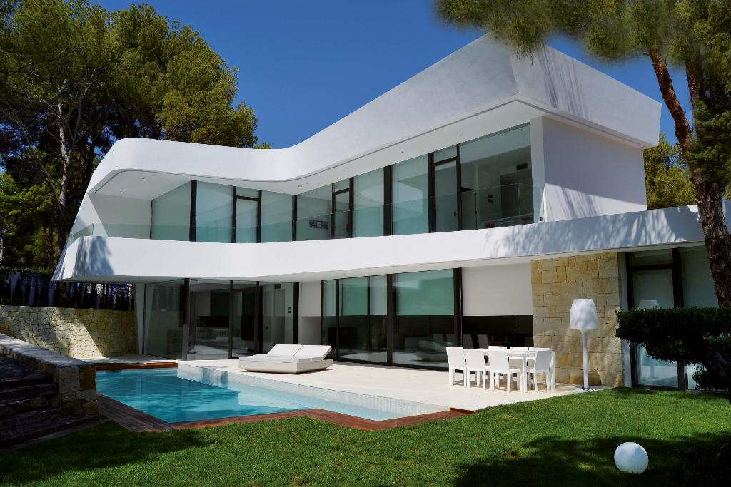 Isla Ghuam, Modern and luxury holiday house in Altea, on the Costa Blanca, Spain  with private pool for 8 persons.....