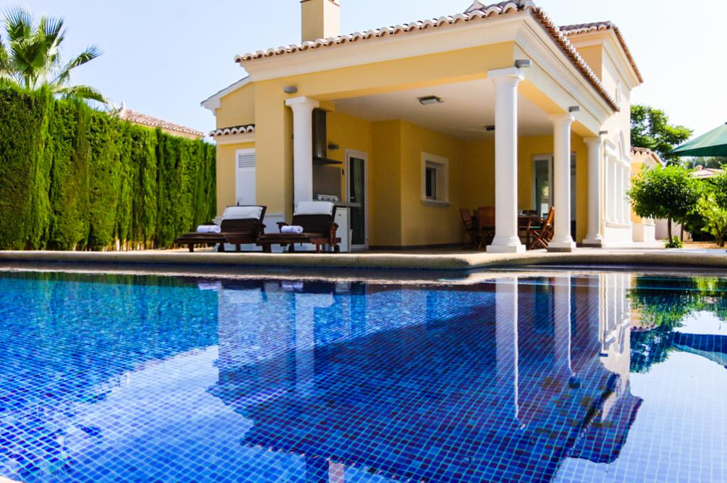 Bramasole 6, Wonderful and luxury villa in Calpe, on the Costa Blanca, Spain  with private pool for 6 persons...