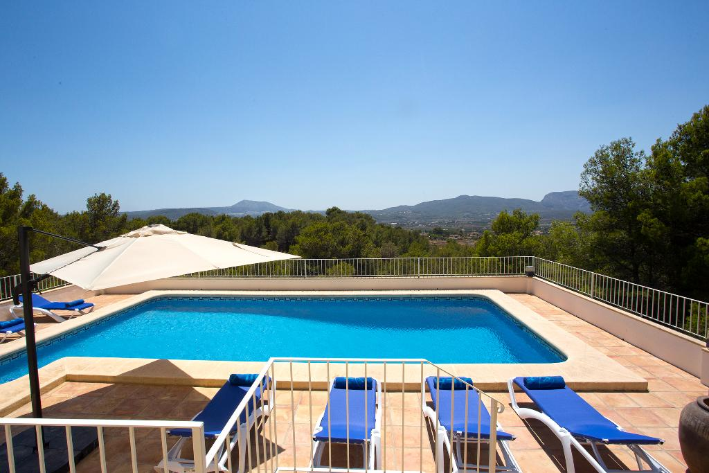 Casa Aurora, Wonderful and comfortable villa in Javea, on the Costa Blanca, Spain  with private pool for 14 persons...