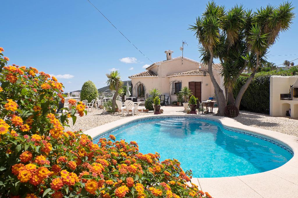 EL RANCHO, Lovely and comfortable villa  with private pool in Benitachell, on the Costa Blanca, Spain for 6 persons...