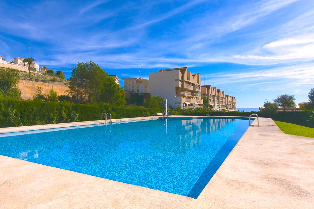 Zeus 4, Apartment in Calpe, on the Costa Blanca, Spain  with communal pool for 4 persons...