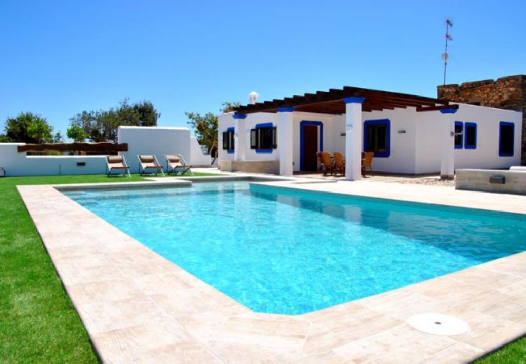 Can Pareya, Comfortable villa  with private pool in Santa Eulalia, Ibiza, Spain for 6 persons...