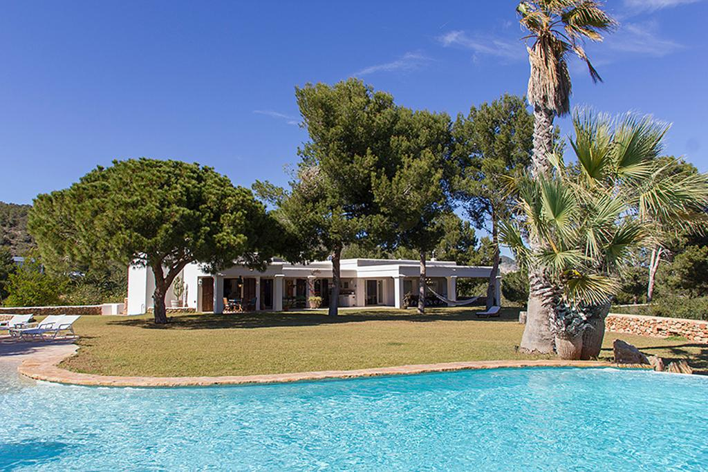 Sa Caleta Hills, Rustic and luxury villa  with private pool in Sa Caleta, Ibiza, Spain for 12 persons...