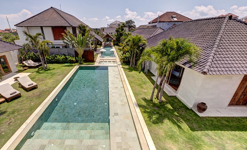 Abaca complex, Beautiful and luxury villa  with private pool in Seminyak, Bali, Indonesia for 28 persons...