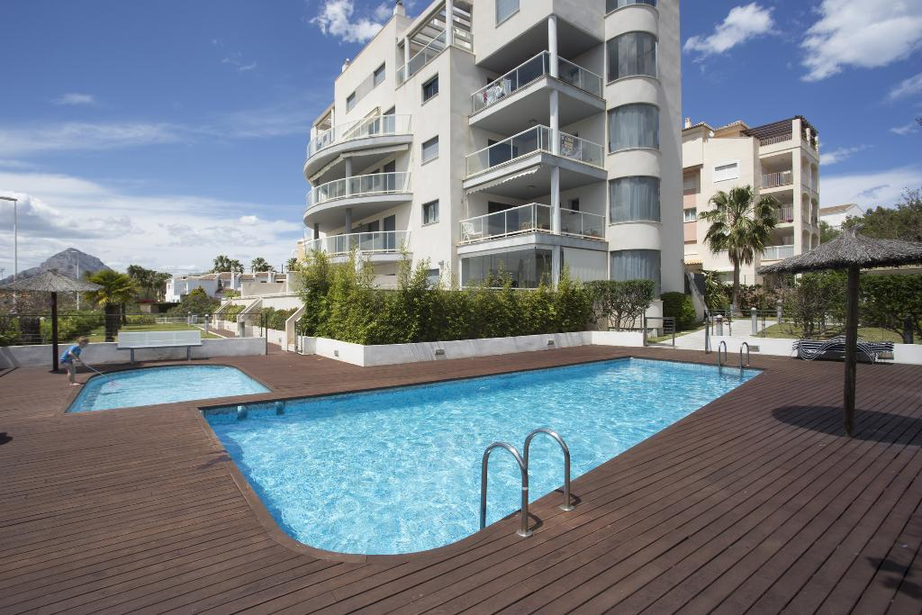 Apt Atenas, Beautiful and comfortable apartment in Javea, on the Costa Blanca, Spain  with communal pool for 6 persons.....