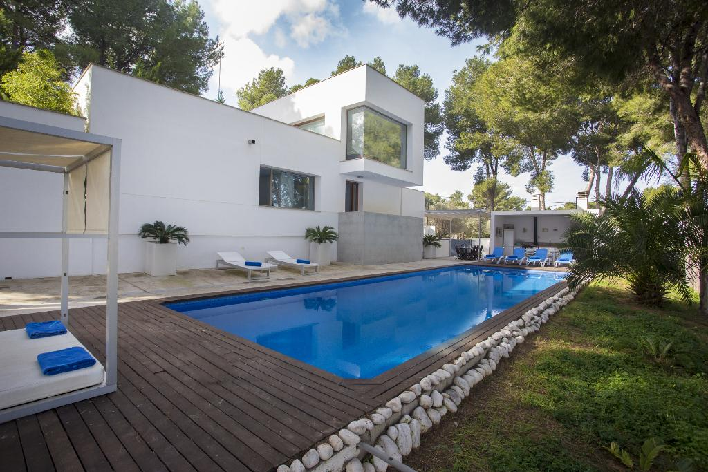 Casa Ramon, Modern and comfortable villa  with private pool in Javea, on the Costa Blanca, Spain for 8 persons.....