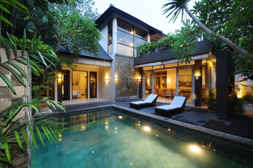 Ayanna villa 3, Modern and nice villa in Canggu, Bali, Indonesia  with private pool for 4 persons...