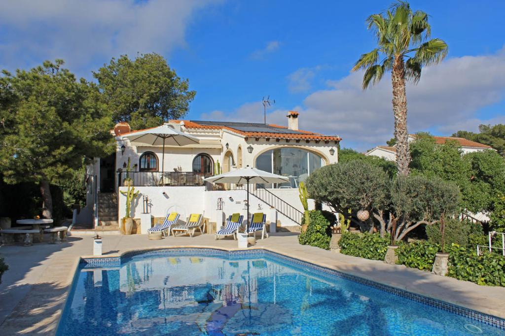 Casa chopo, Villa in Moraira, on the Costa Blanca, Spain  with private pool for 4 persons...