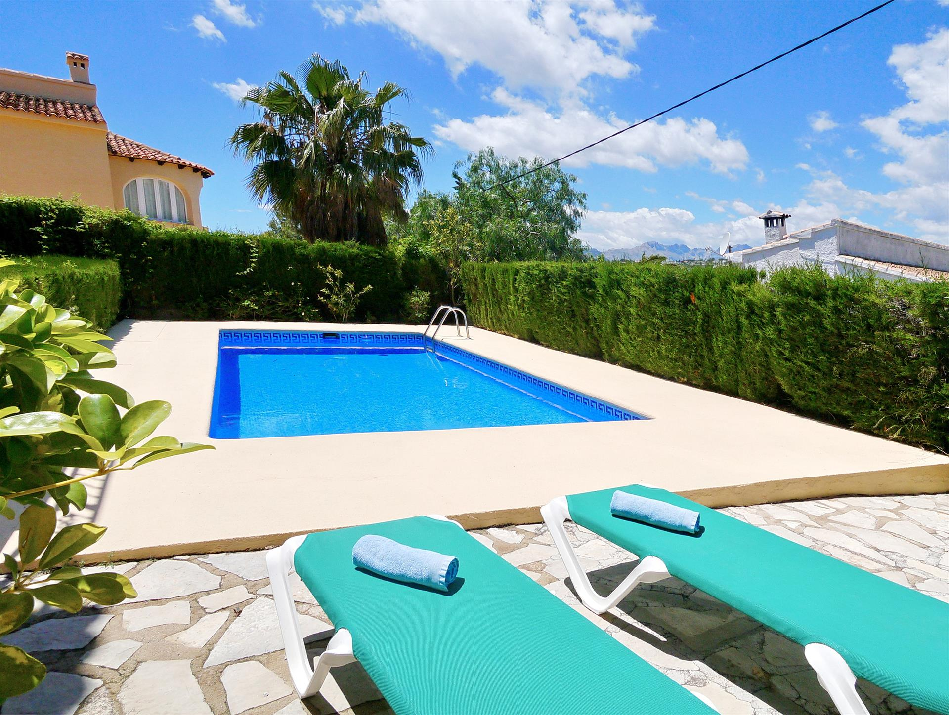 Josyan, Beautiful and comfortable villa  with private pool in Benissa, on the Costa Blanca, Spain for 8 persons.....