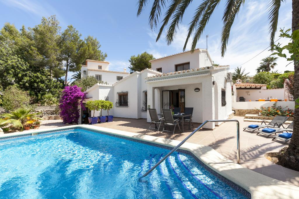 Casa elsa, Wonderful and nice villa  with private pool in Denia, on the Costa Blanca, Spain for 6 persons...