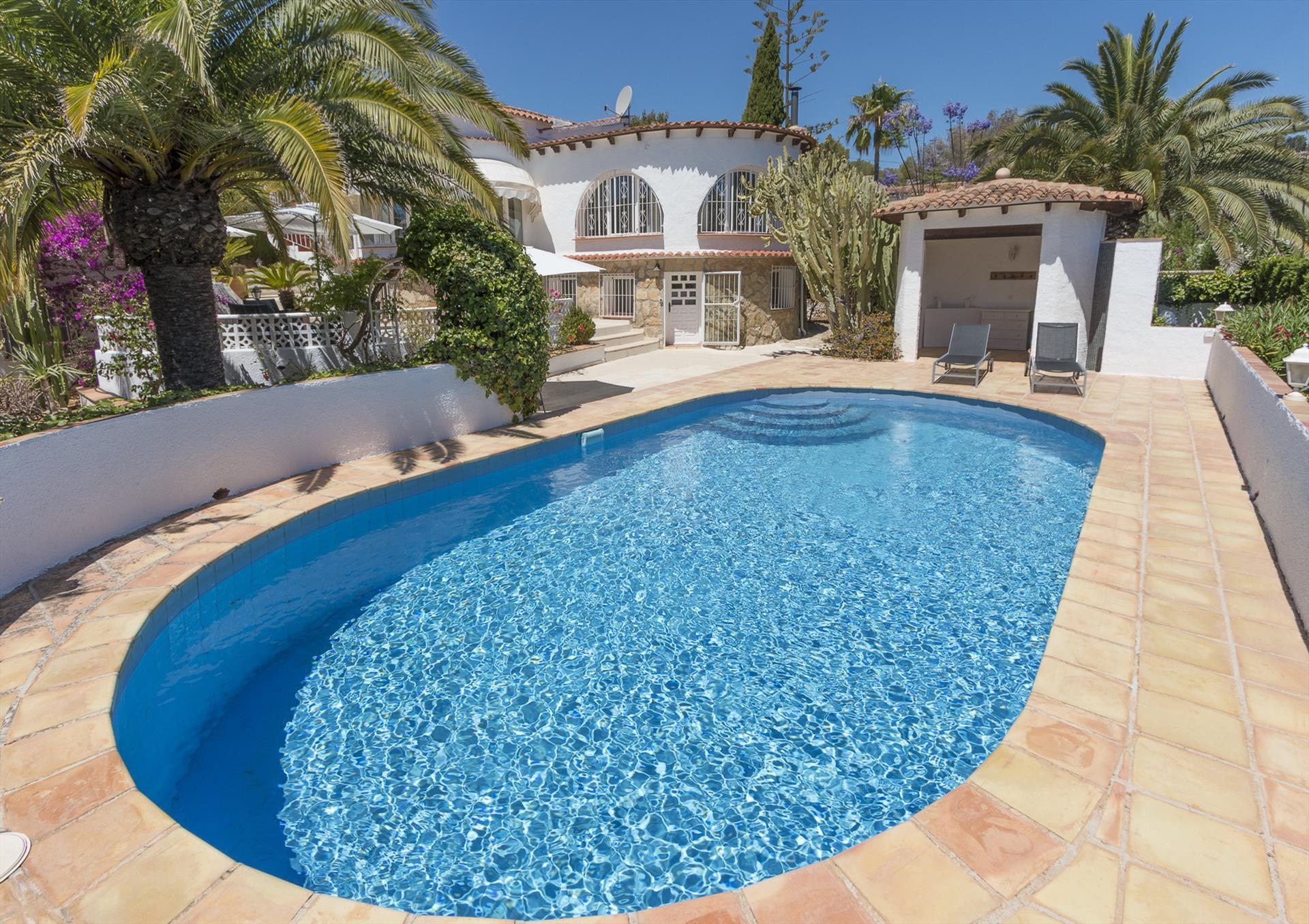 Villa Lo, Wonderful and comfortable villa  with private pool in Benissa, on the Costa Blanca, Spain for 6 persons.....