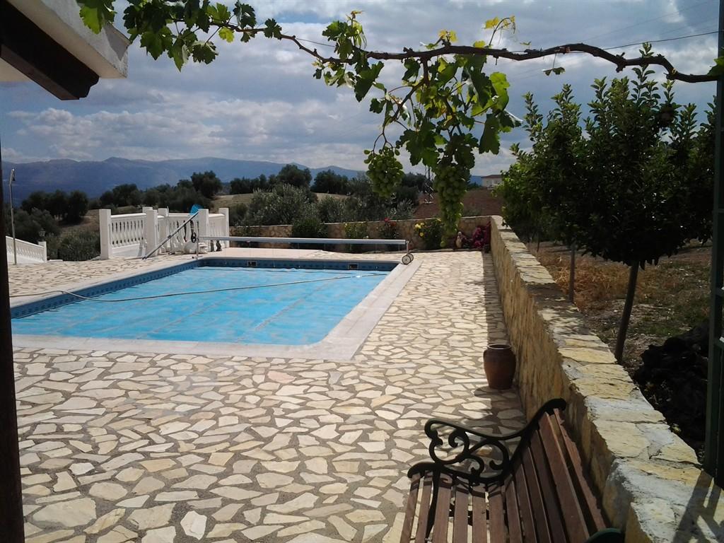 Pepin,Villa  con piscina privada en Montefrio, Andalucía, España para 16 personas...