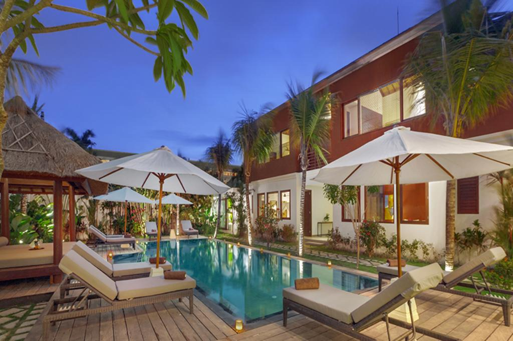Tangram 5BR, Beautiful and luxury villa  with private pool in Seminyak, Bali, Indonesia for 10 persons...