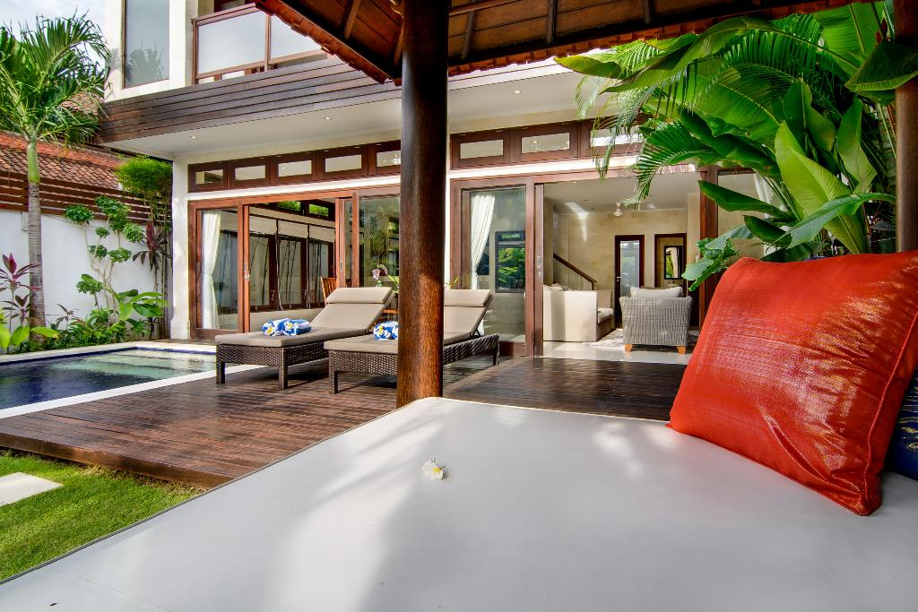 Istana Dua 1BR, Beautiful and  luxury villa  with private pool in Seminyak, Bali, Indonesia for 2 persons...