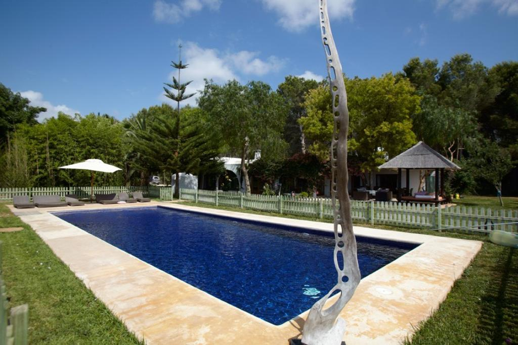 Finca parot, Beautiful and romantic villa in San Lorenzo, Ibiza, Spain  with private pool for 12 persons...