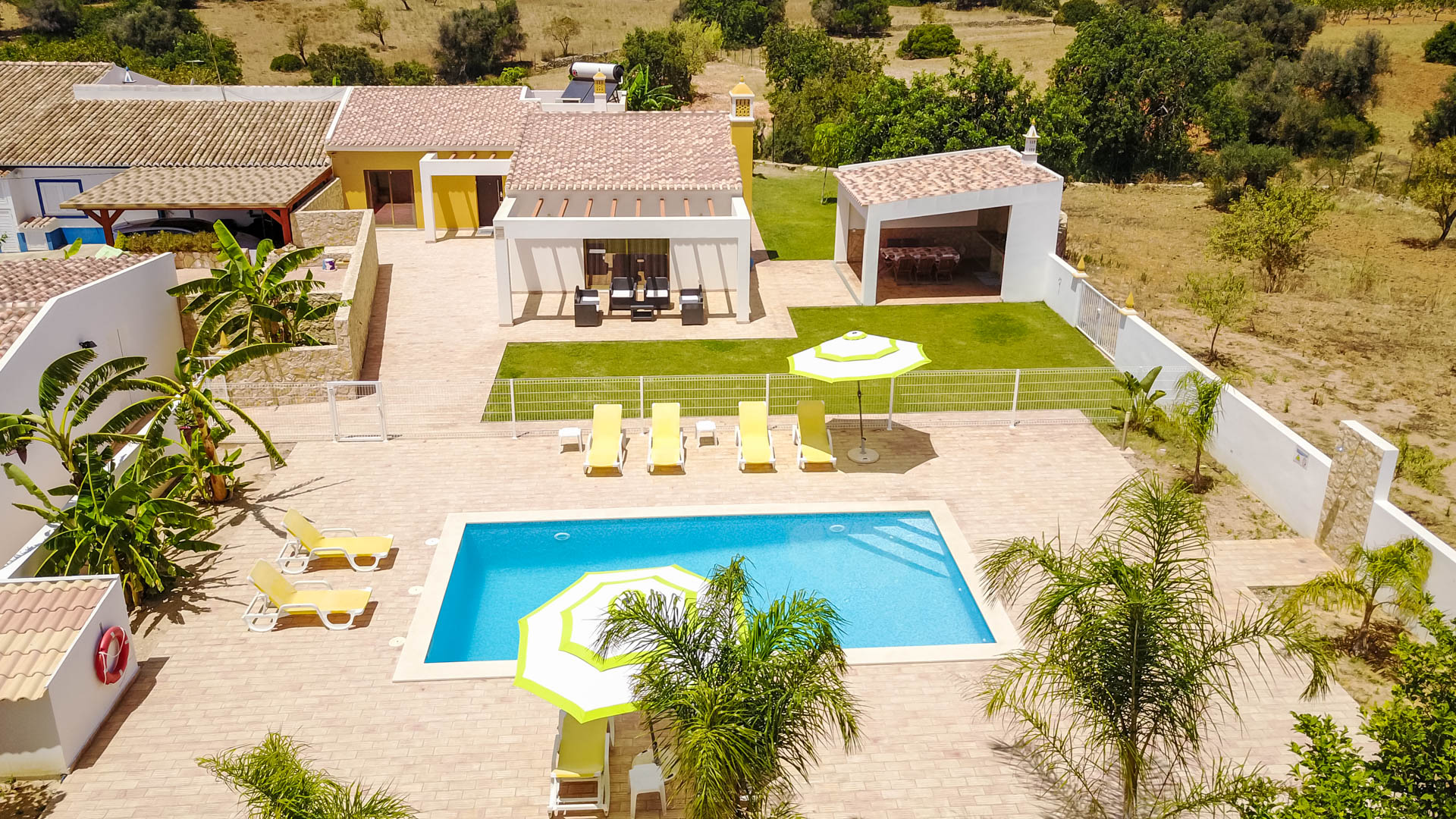 Villa albufeira ls409, Modern and nice villa  with private pool in Albufeira, on the Algarve, Portugal for 6 persons...