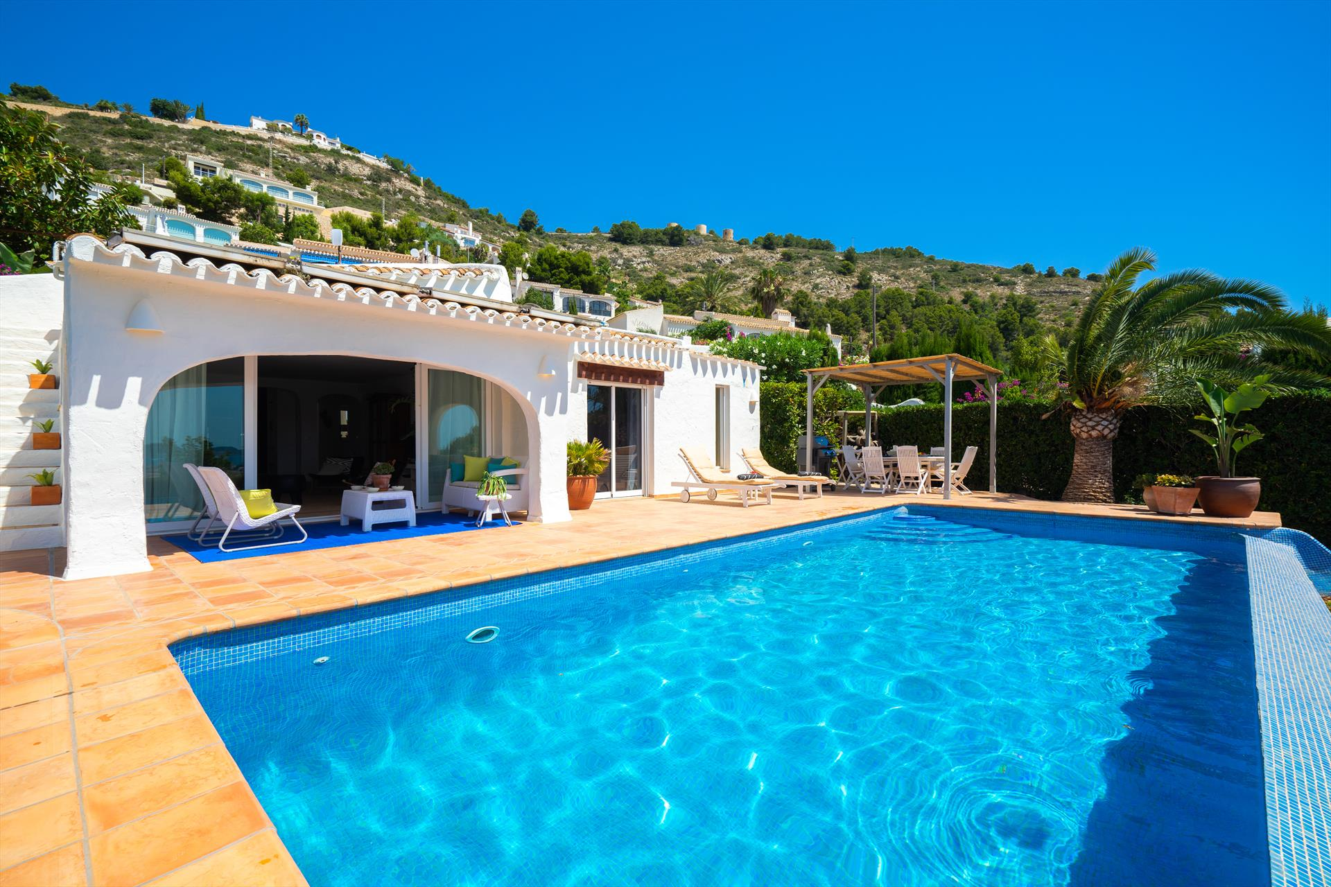 Nalu 4 pax, Rustic and romantic villa in Javea, on the Costa Blanca, Spain  with private pool for 4 persons...