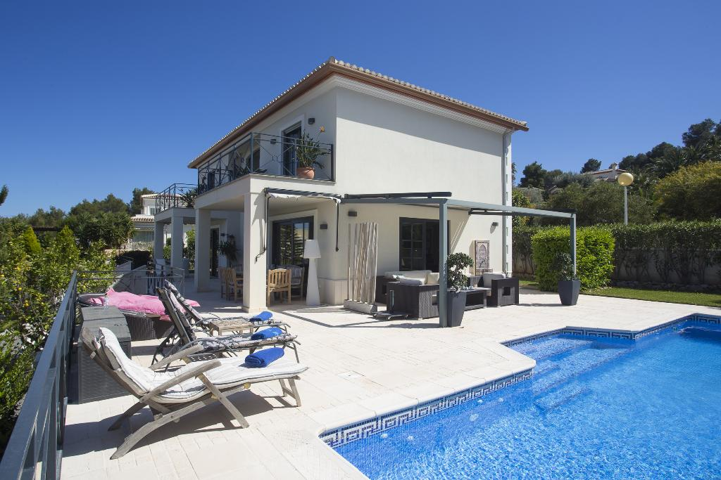 Atila 6 pax, Modern and luxury villa  with private pool in Javea, on the Costa Blanca, Spain for 6 persons...
