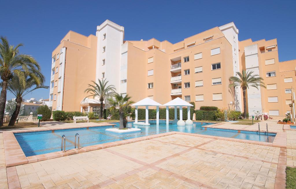 Golden paradise, Beautiful and cheerful apartment in Javea, on the Costa Blanca, Spain for 4 persons...