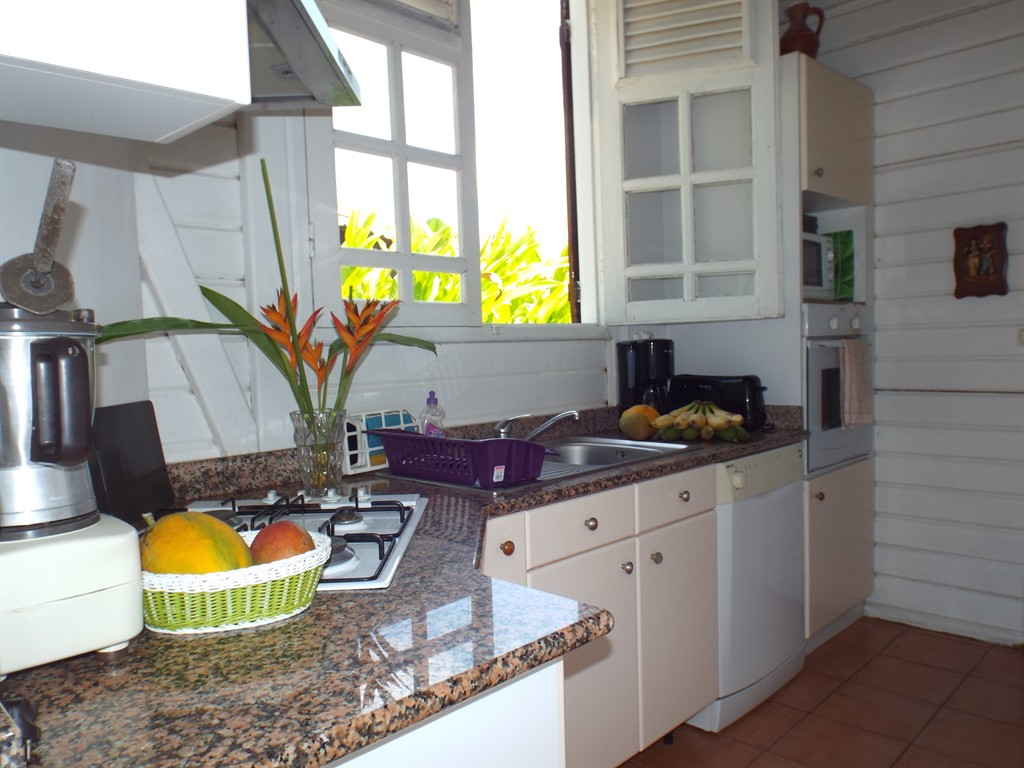 Les villas de tisource, Villa  with private pool in Guadeloupe, Guadeloupe, Guadeloupe for 6 persons...