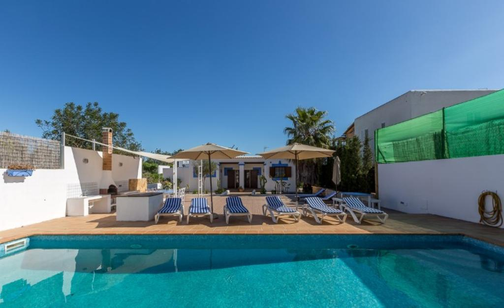 348, Villa in San Rafael, San Antonio, Spain  with private pool for 11 persons...