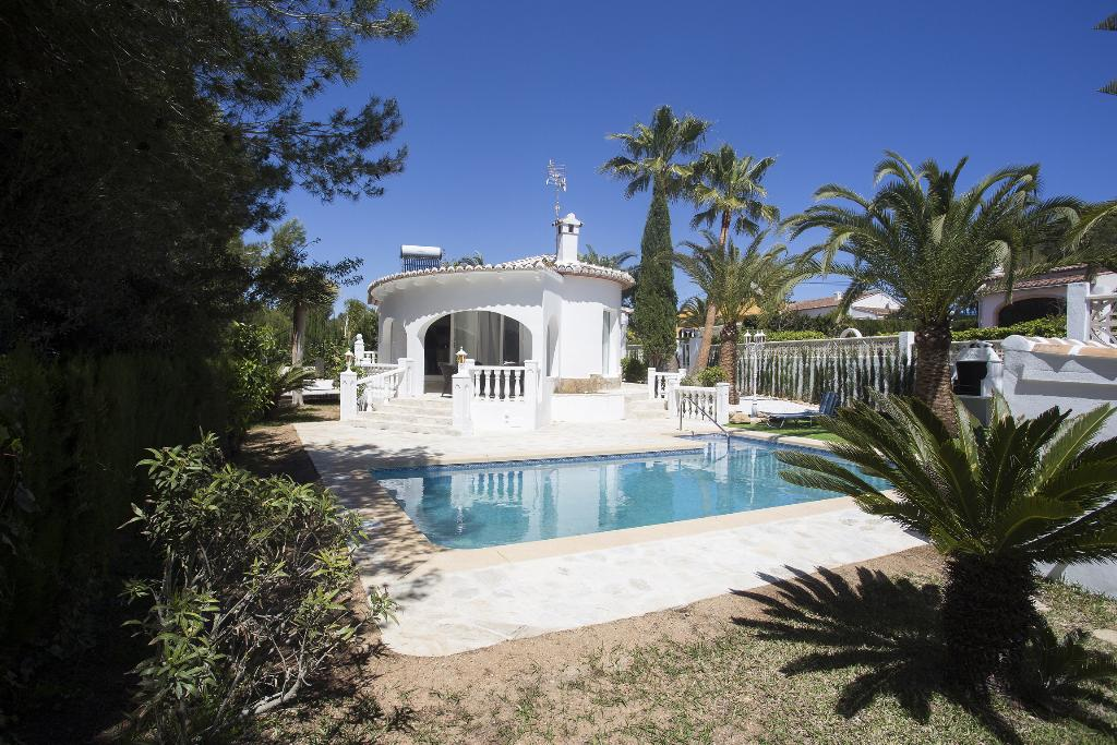 Casa Muchacha 4 pax, Beautiful and cheerful villa  with private pool in Javea, on the Costa Blanca, Spain for 4 persons...