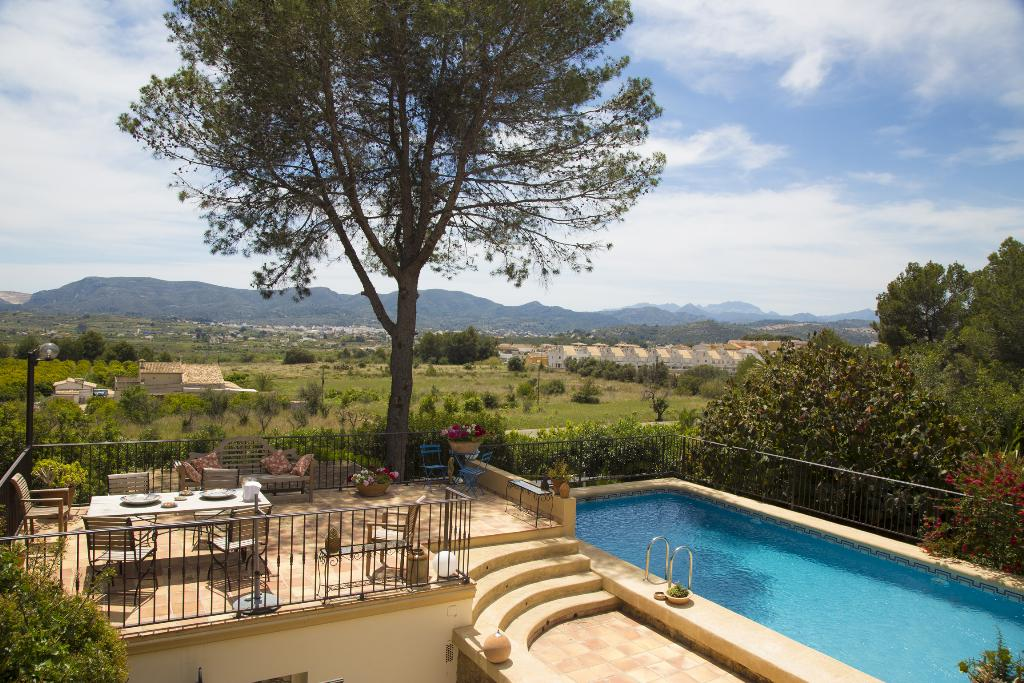 Casa rosande, Rustic and cheerful villa in Denia, on the Costa Blanca, Spain  with private pool for 6 persons...