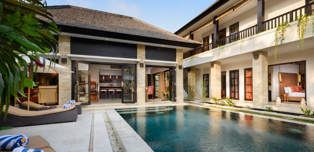 Amman, Beautiful and luxury villa  with private pool in Seminyak, Bali, Indonesia for 8 persons...