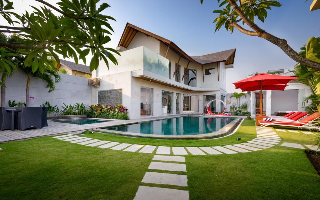 Miro,Villa bonita y de lujo en Seminyak, Bali, Indonesia  con piscina privada para 6 personas...