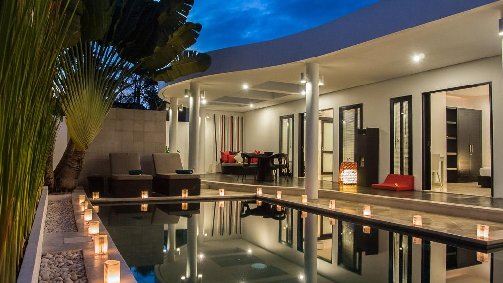 Zensa 1br, Beautiful and luxury villa  with private pool in Seminyak, Bali, Indonesia for 2 persons...