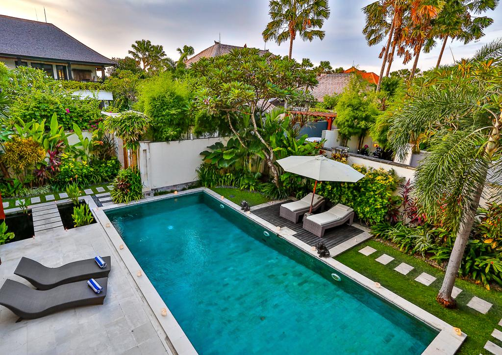 Shanti, Large and luxury villa  with private pool in Seminyak, Bali, Indonesia for 8 persons...
