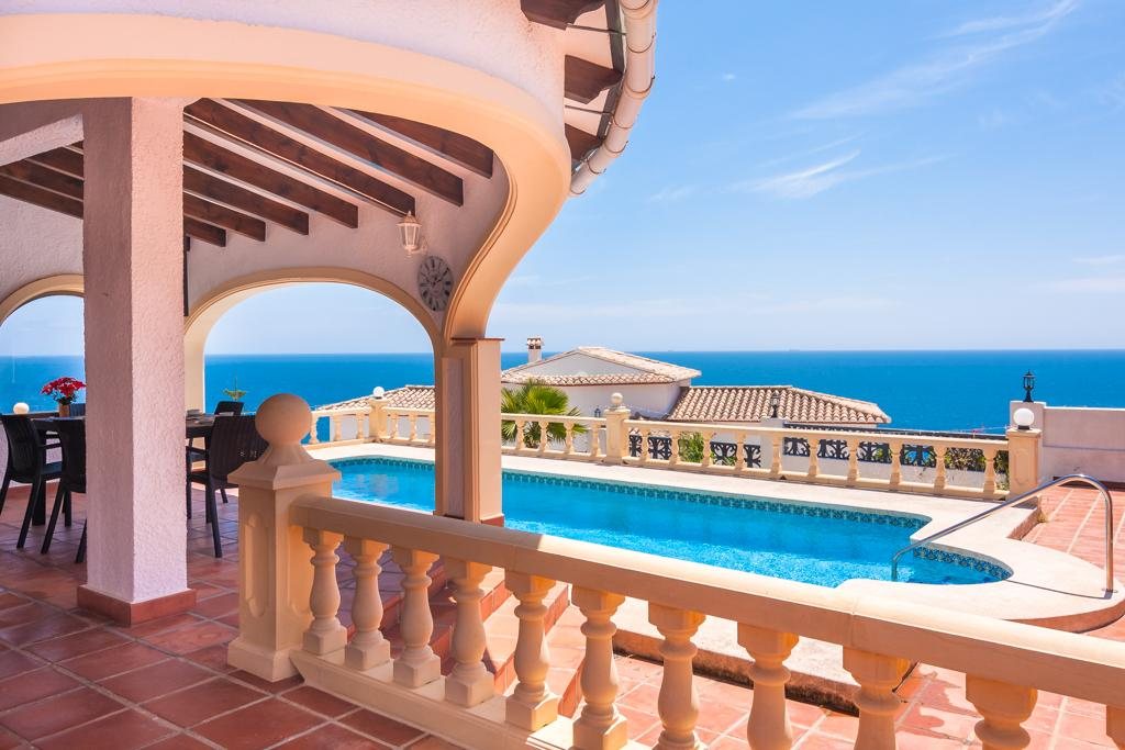 Penelope 6, Classic and romantic villa in Benissa, on the Costa Blanca, Spain  with private pool for 6 persons.....