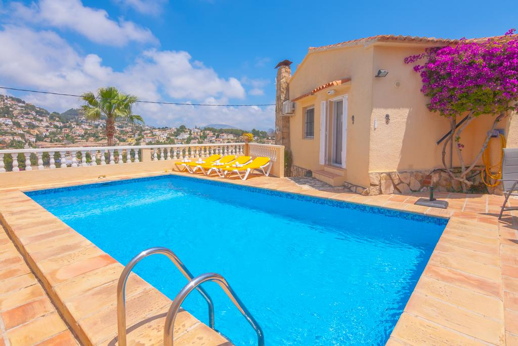 Bibiane 6, Semi-detached classic villa in Benissa, on the Costa Blanca, Spain with private pool for 6 persons. The villa is situated.....