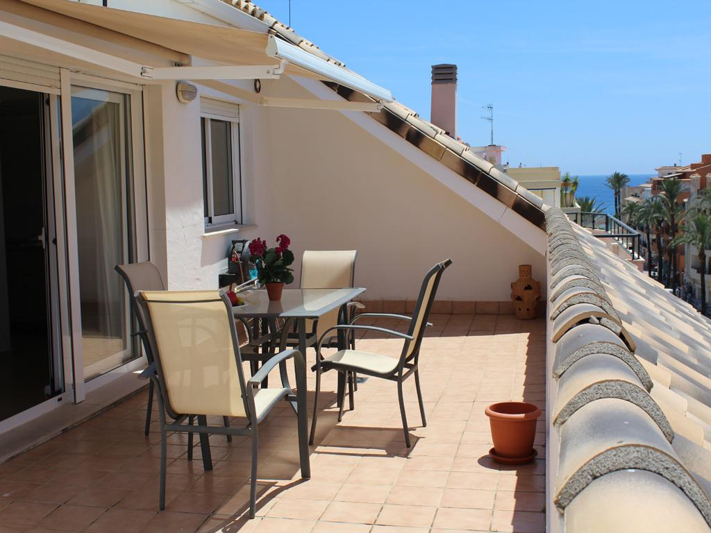 Atico La Senieta, Apartment  with communal pool in Moraira, on the Costa Blanca, Spain for 6 persons...