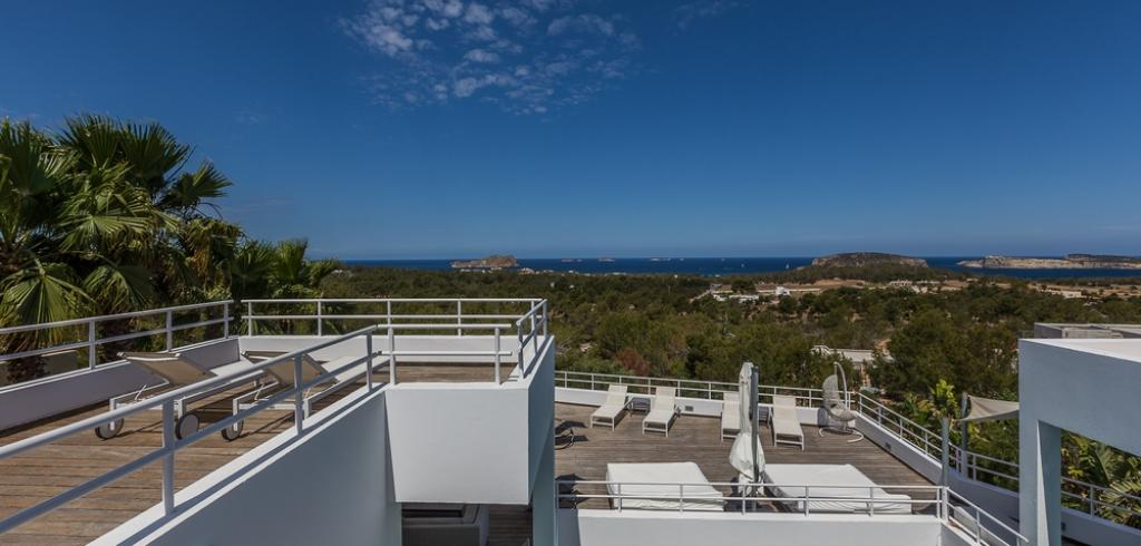 951,Large villa  with private pool in Cala Conta, Ibiza, Spain for 8 persons...